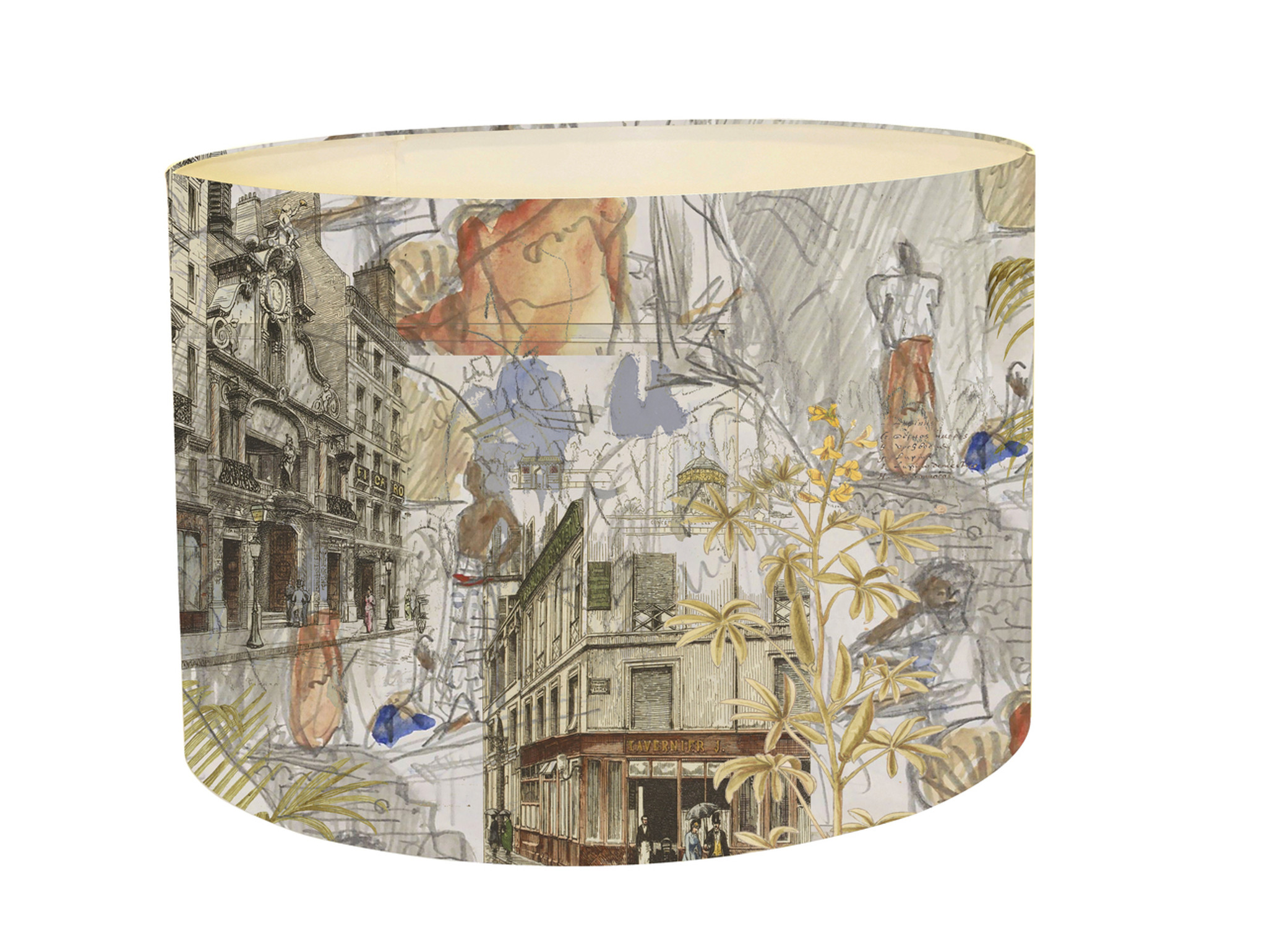 Lampshade - Urban Sketches - Paris