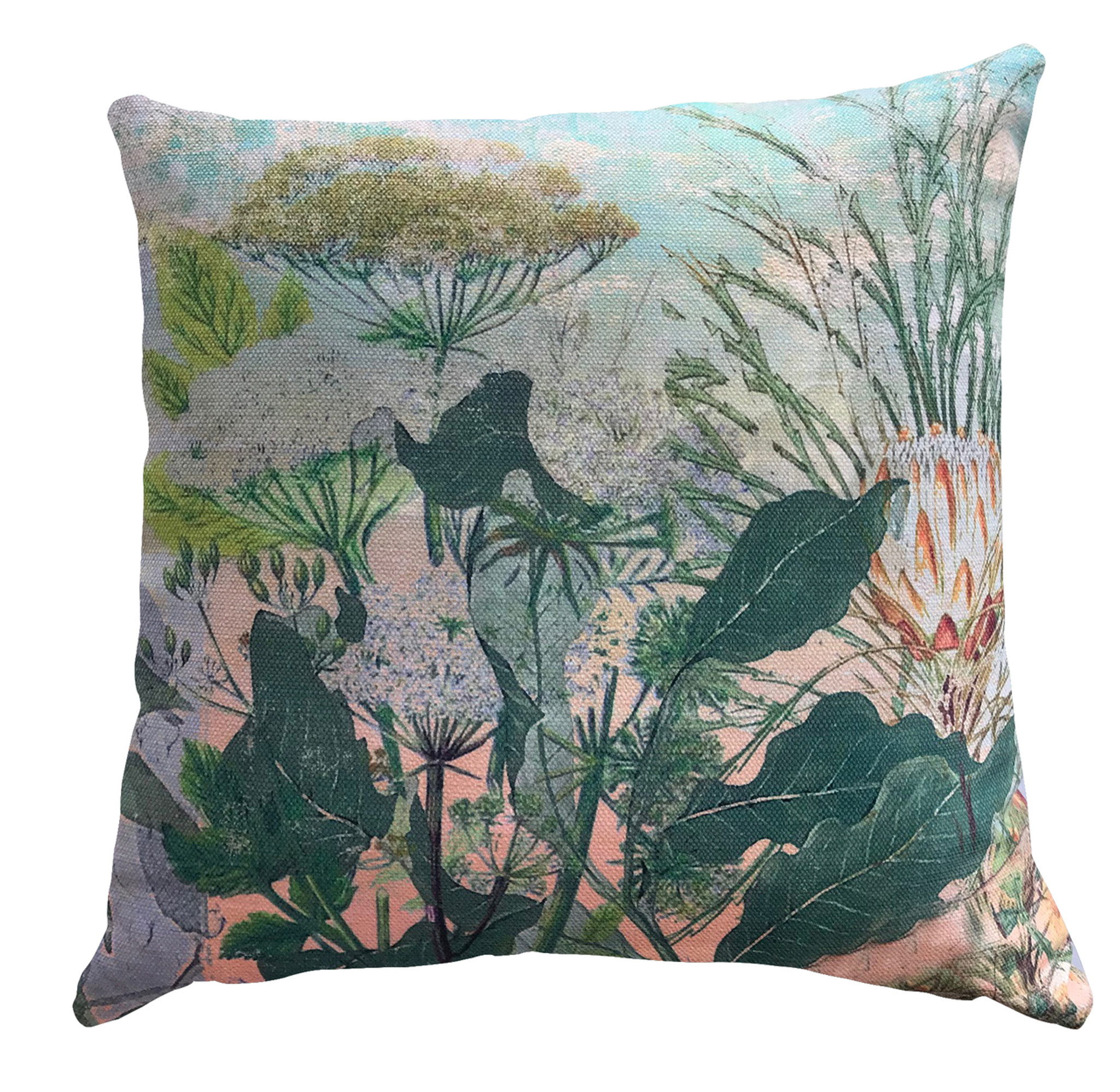 Cushion Cover - Wild Bunch - in Pink