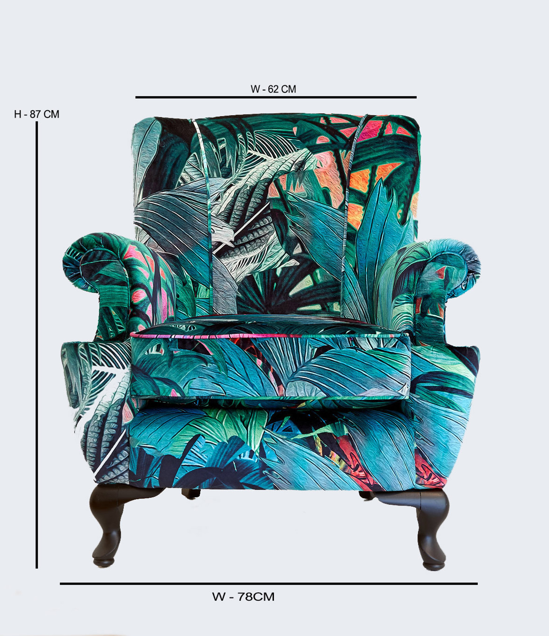 VINTAGE CHAIR -  JUNGLE VIBE UPHOLSTERY