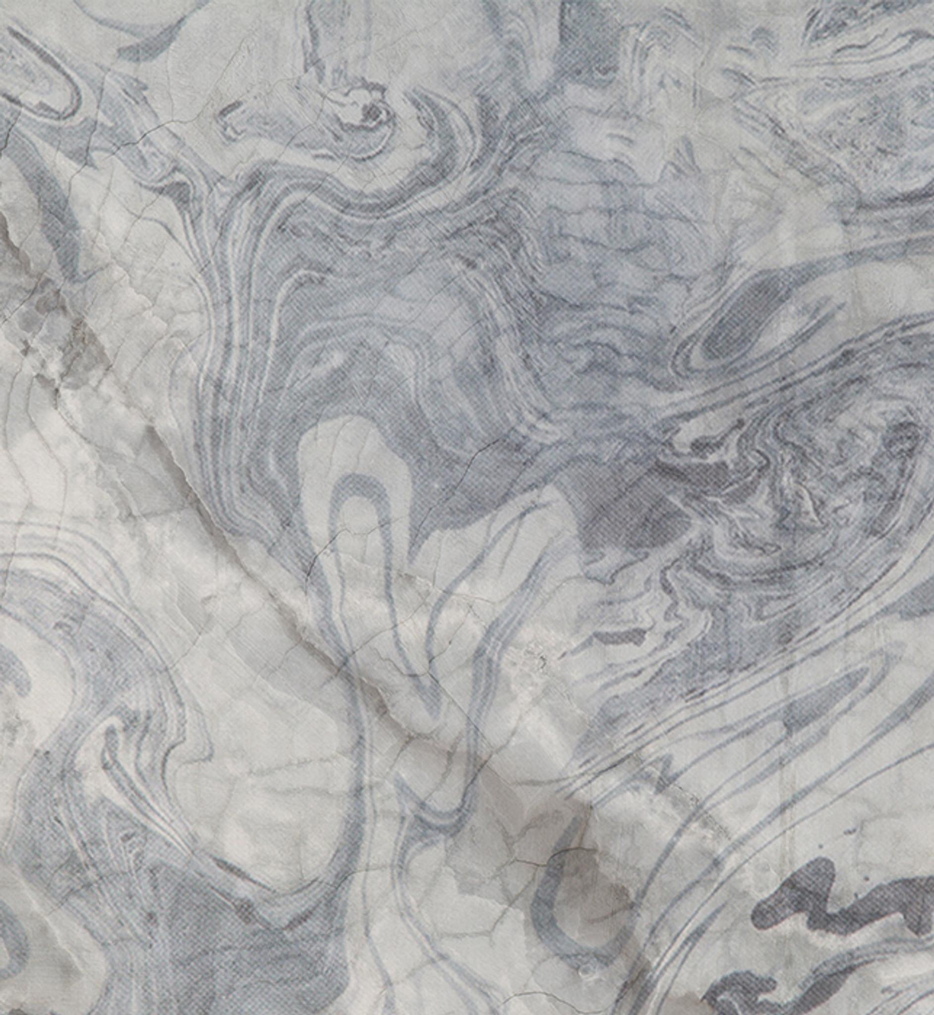 Wallpaper - Broken Marble- Licorice Swirl