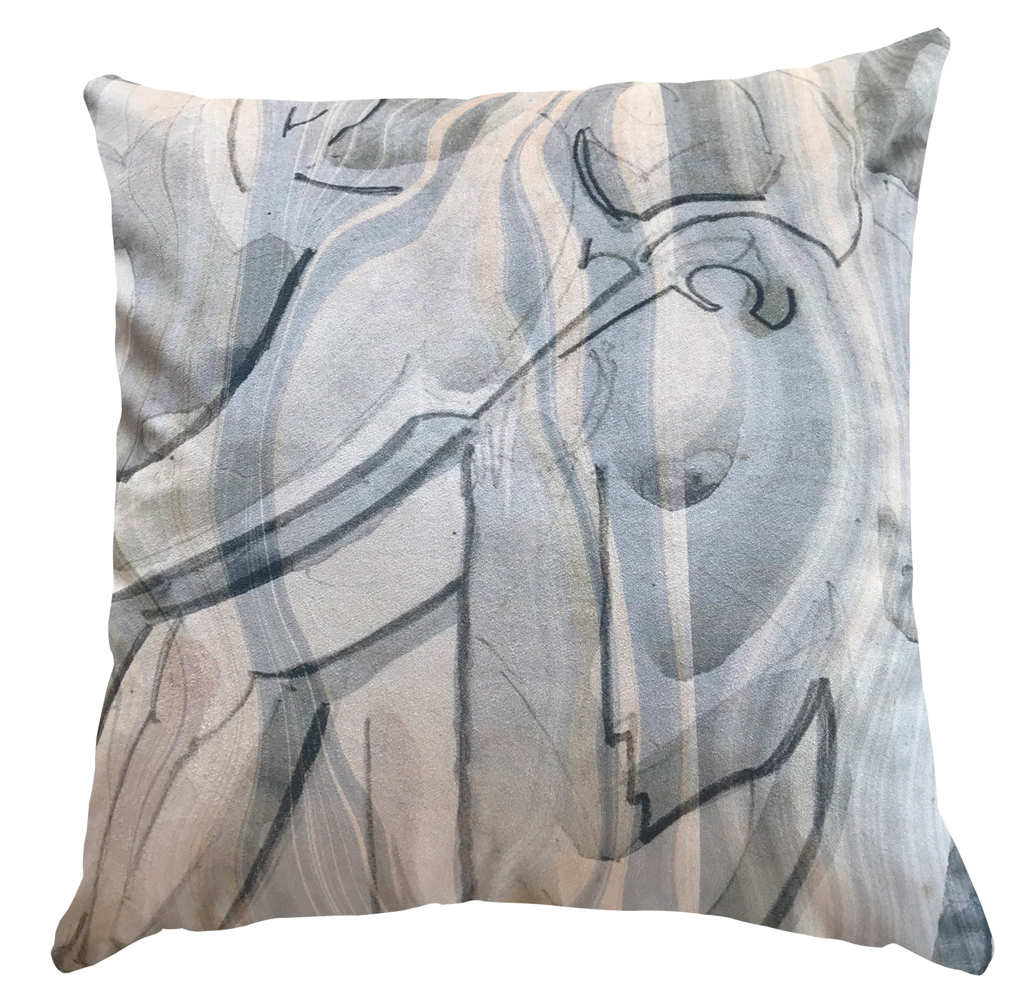 Cushion Cover - Broken Marble - Spumoni