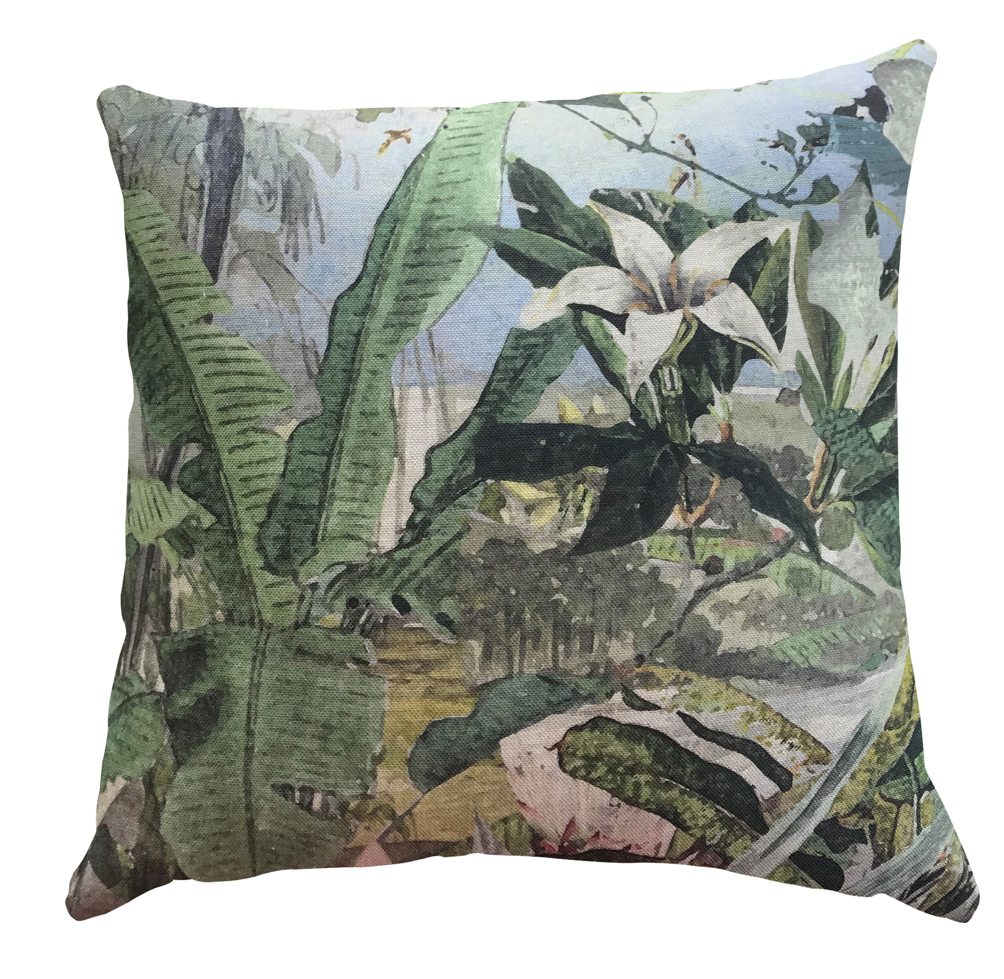Outdoor Cushion Cover - Tropical Refuge