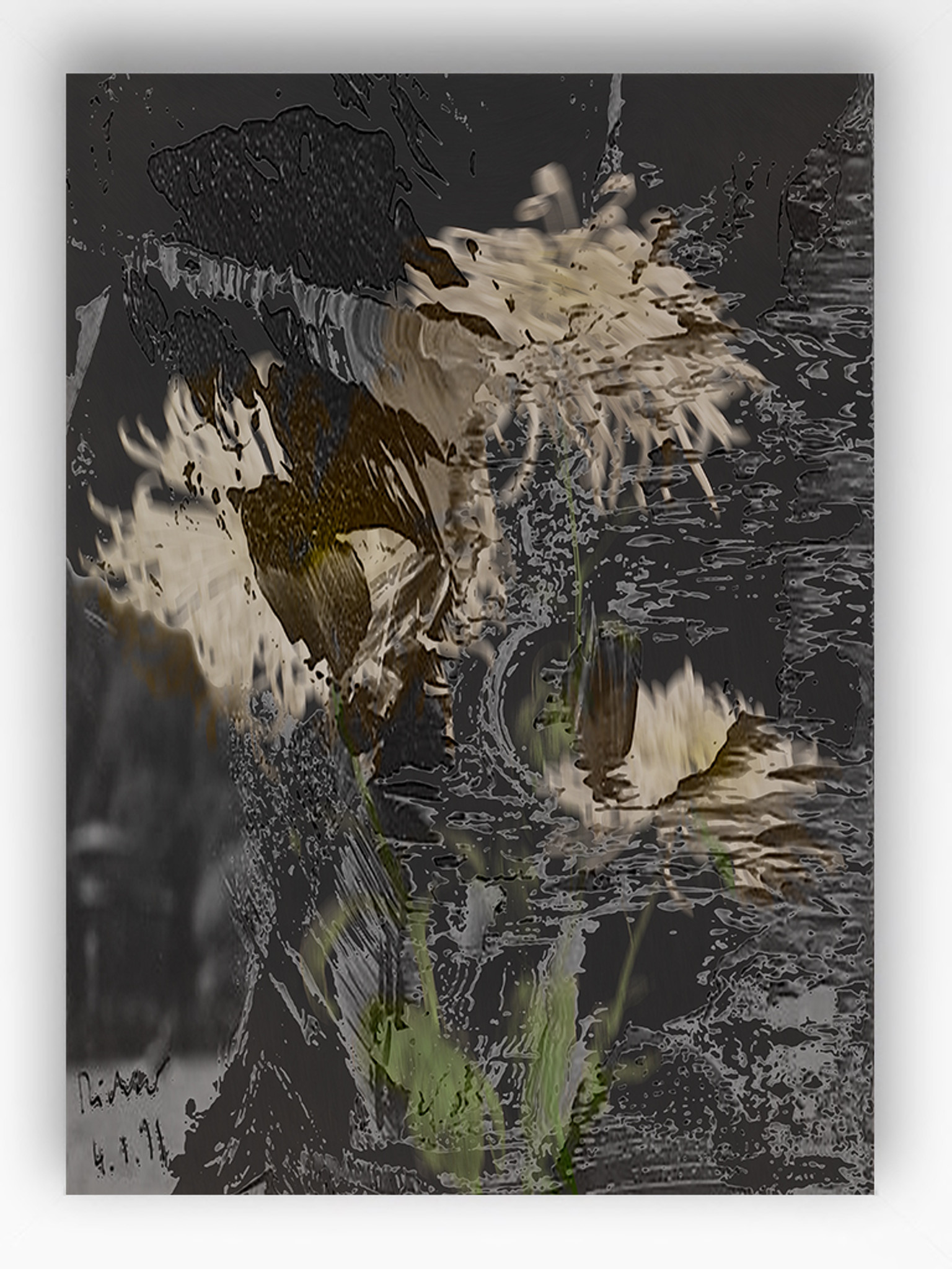 Art Print - Blurred Vision - Double Exposure -1