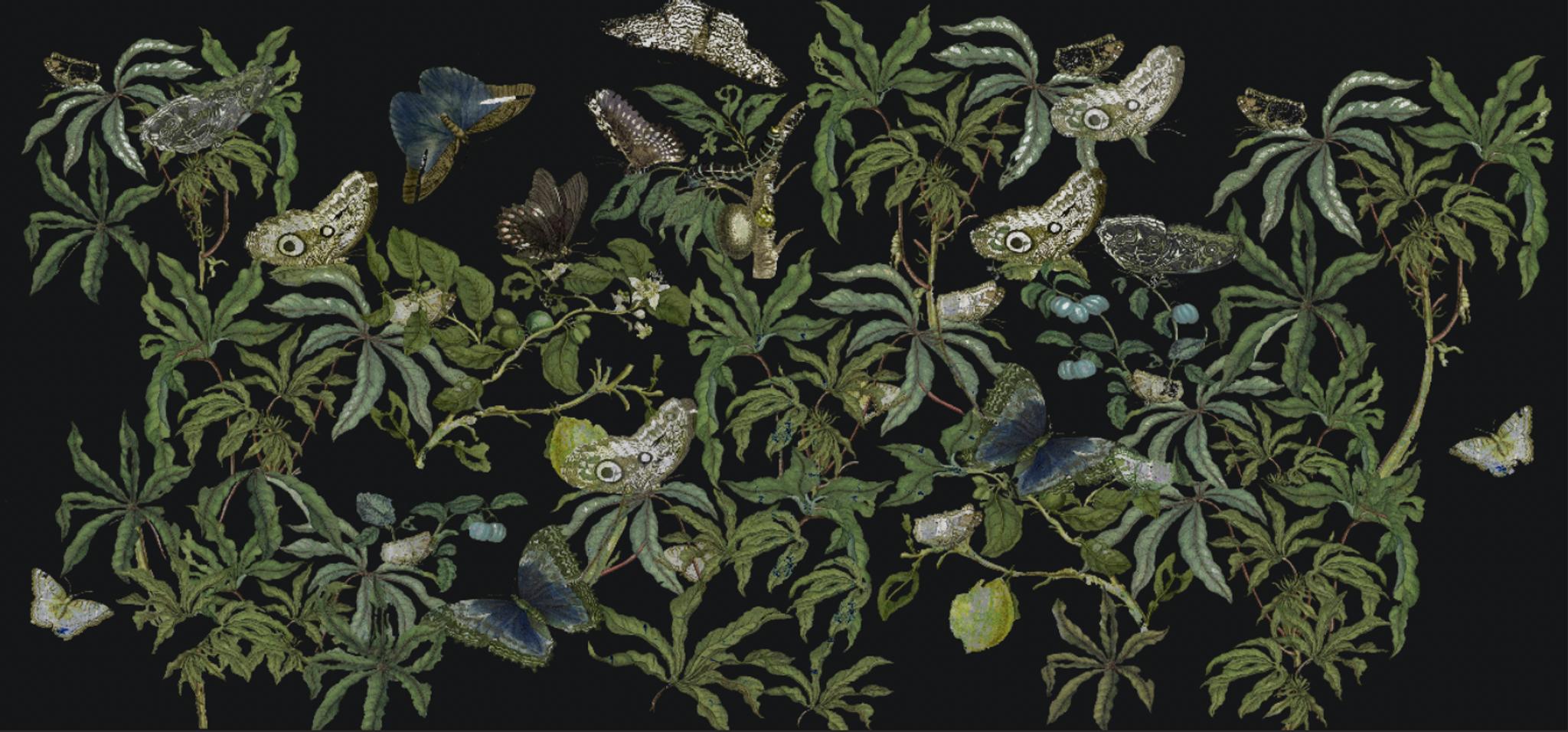 Wallpaper - Plein Air Dining at Night
