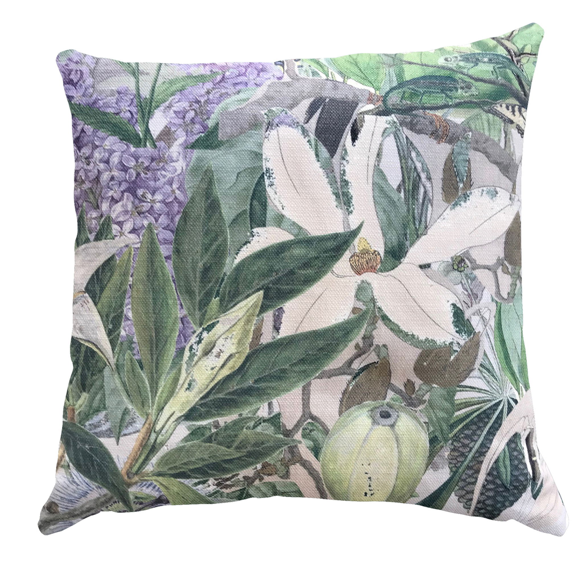 Outdoor Cushion Cover - Wild Bunch - Wisteria