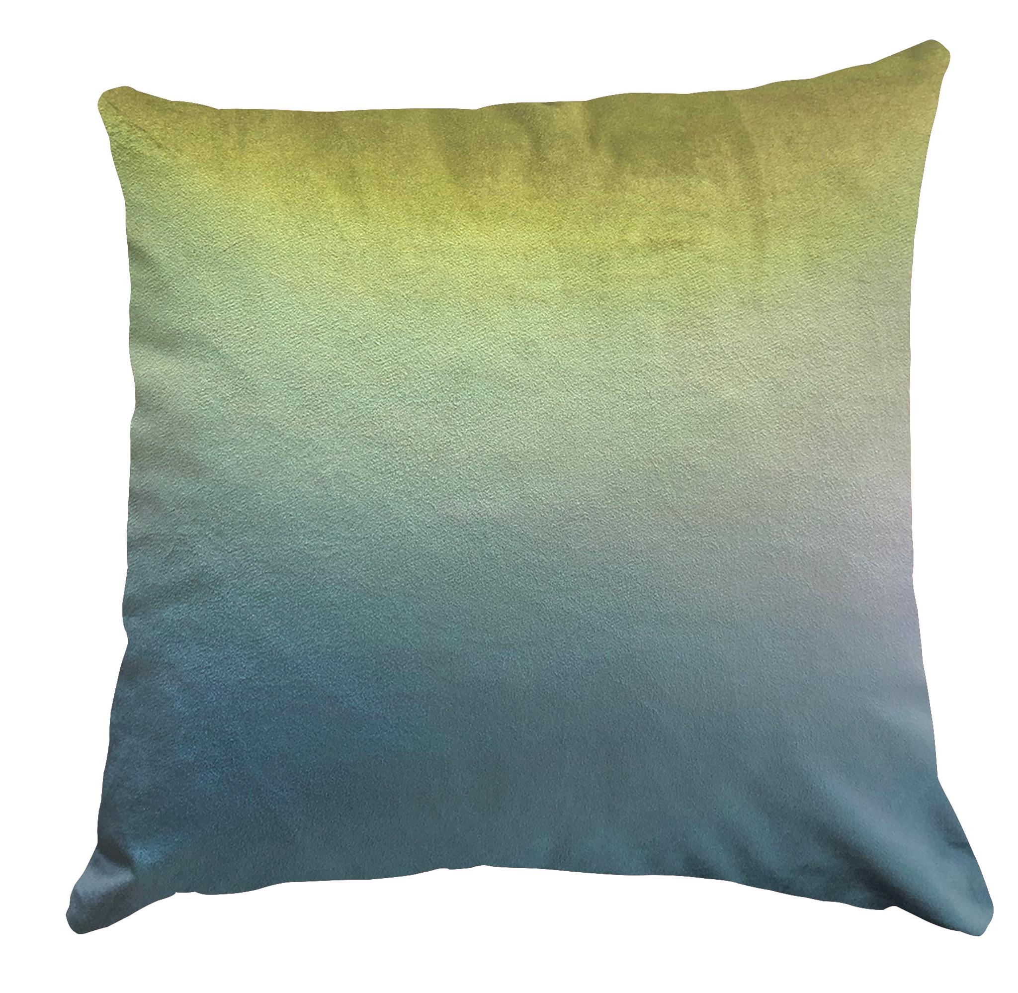 Cushion Cover - Ryokan Dreaming - Destination Acid Lime