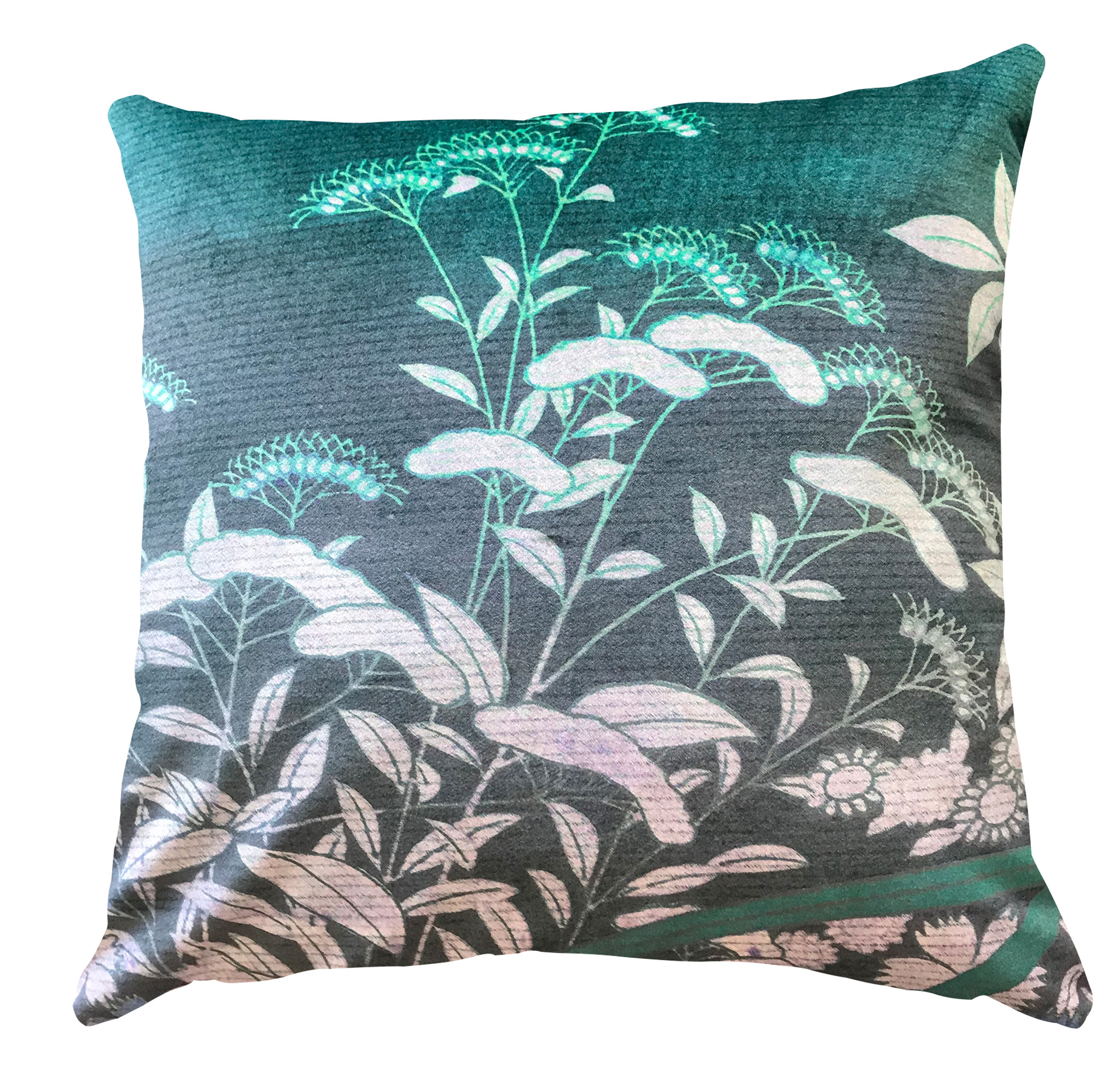 Cushion Cover - Ryokan Dreaming - Suggested Itinerary Mauve