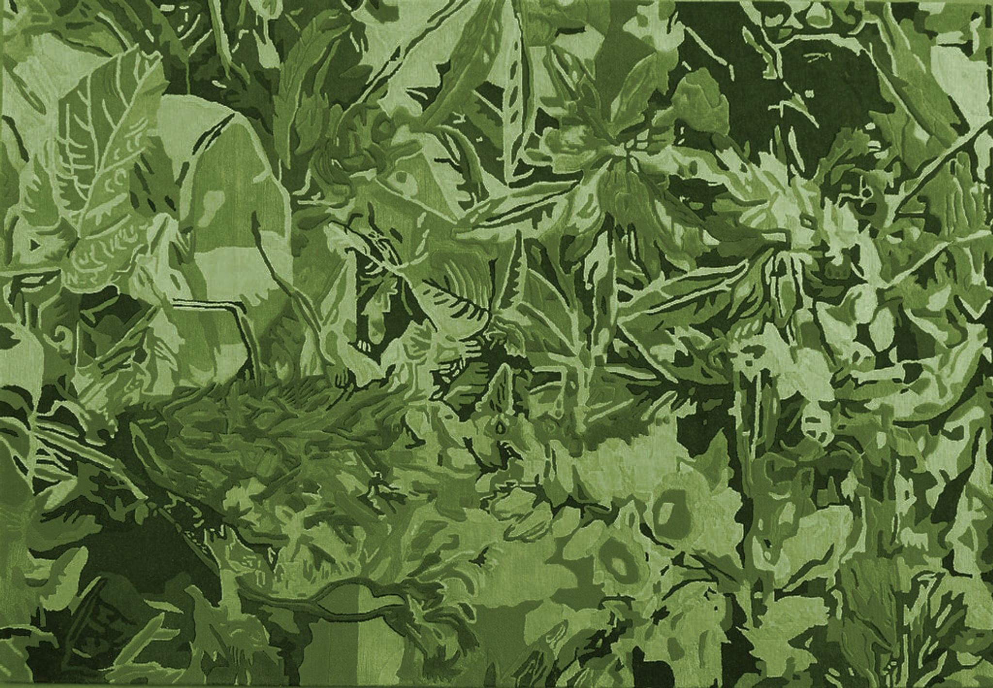 Rug - Wild Ginger Green