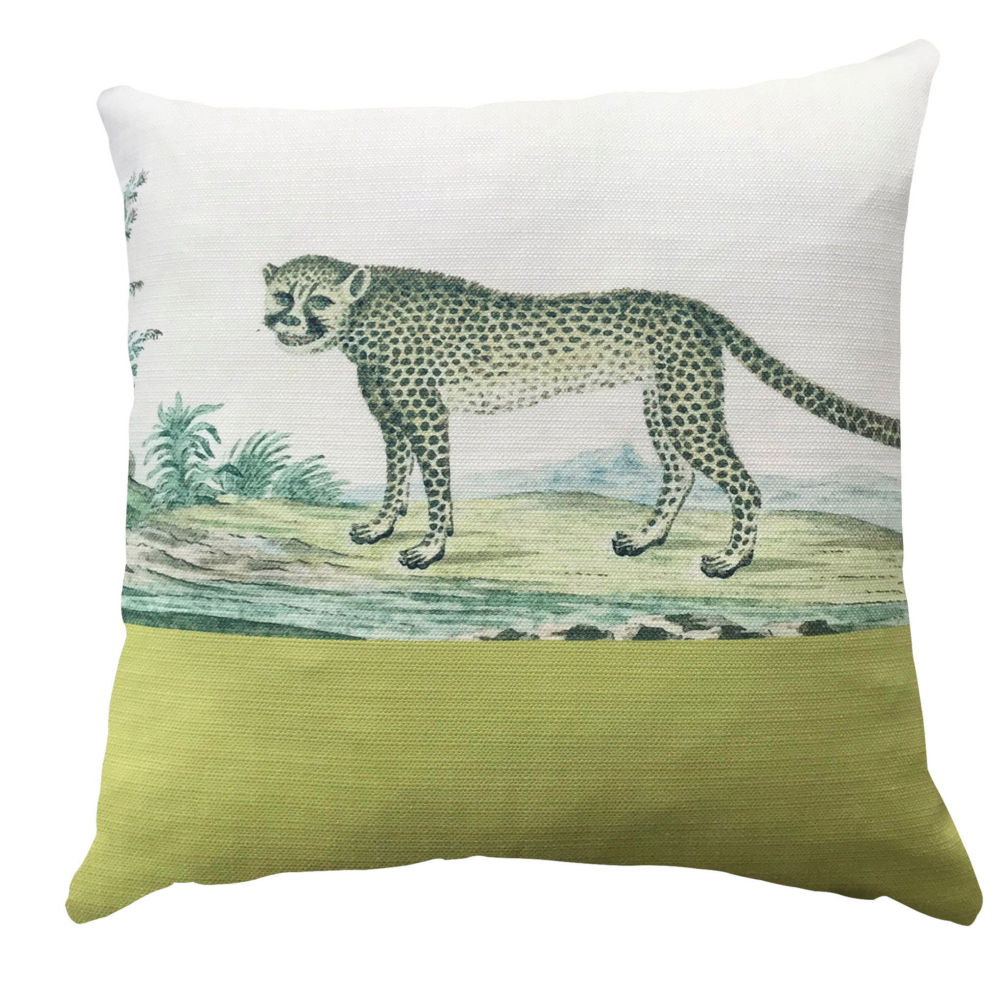 Cushion Cover - Spring Carnival - I'm a Cat Person Actually