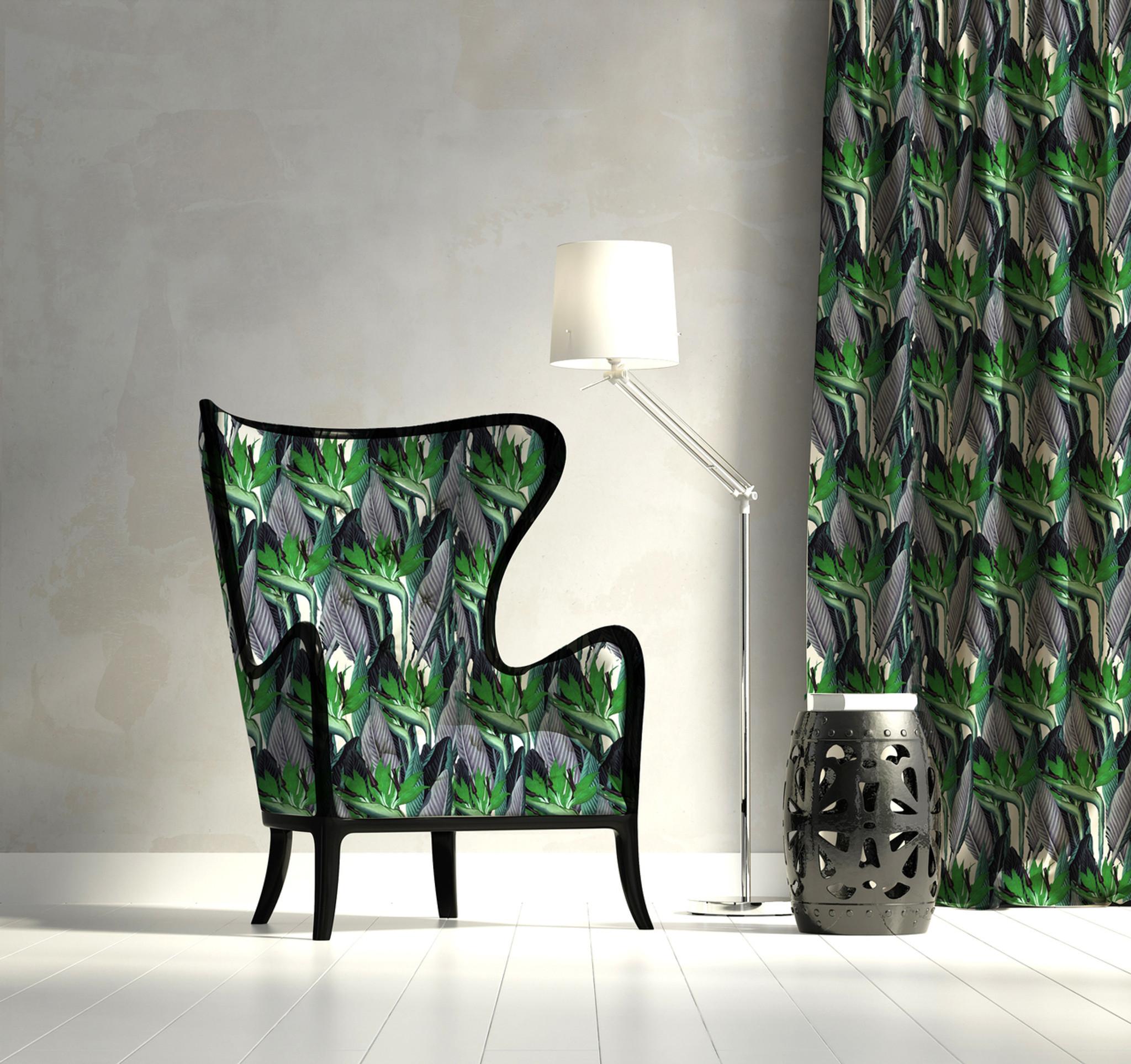Fabric - Strelitzia - Green