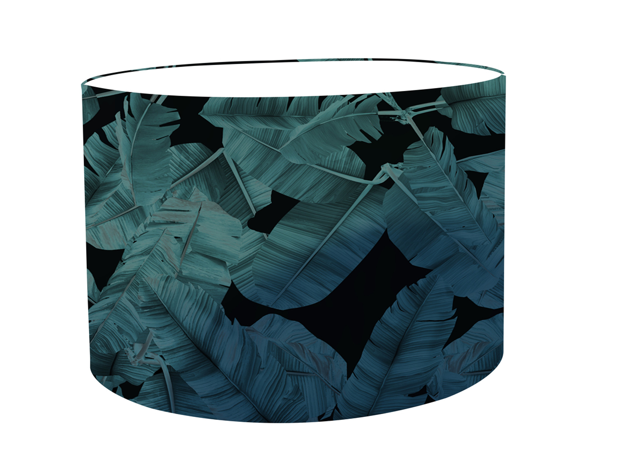 Lampshade - Jungle Noir - Blue