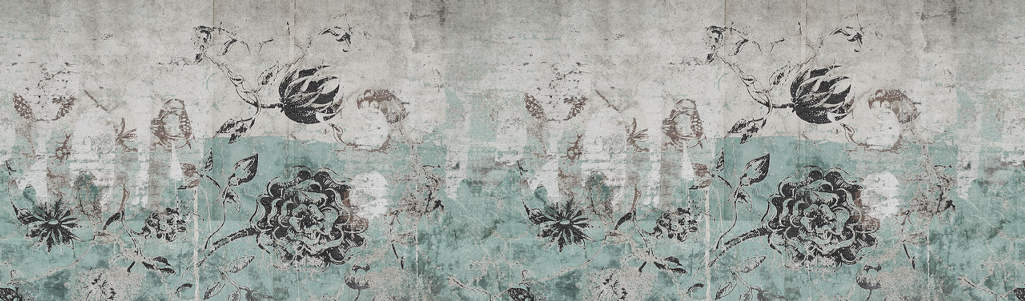 Wallpaper - Botanical Graffiti