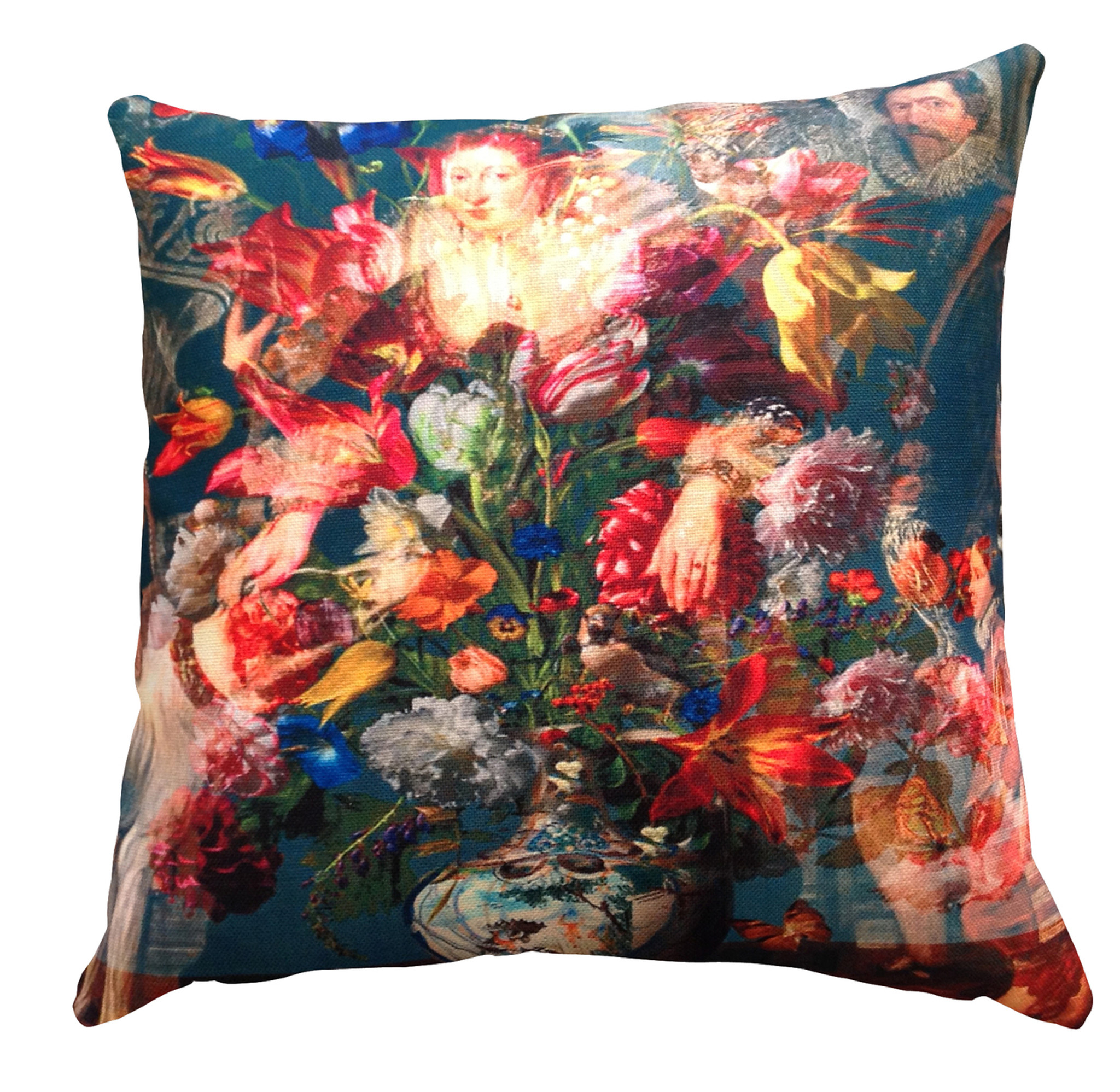 Cushion Cover - Countess with Flowers