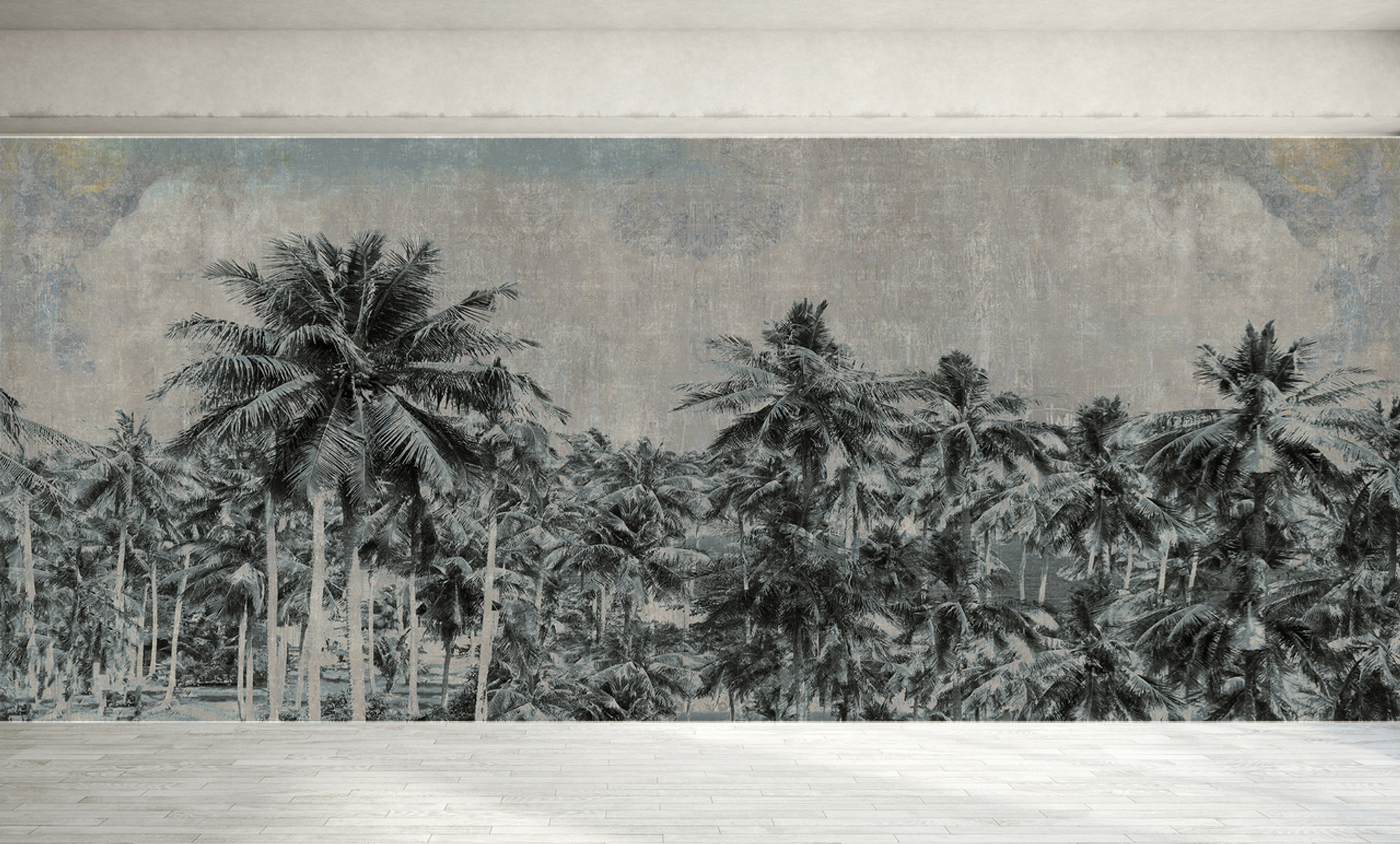 Wallpaper - Tropical Palms