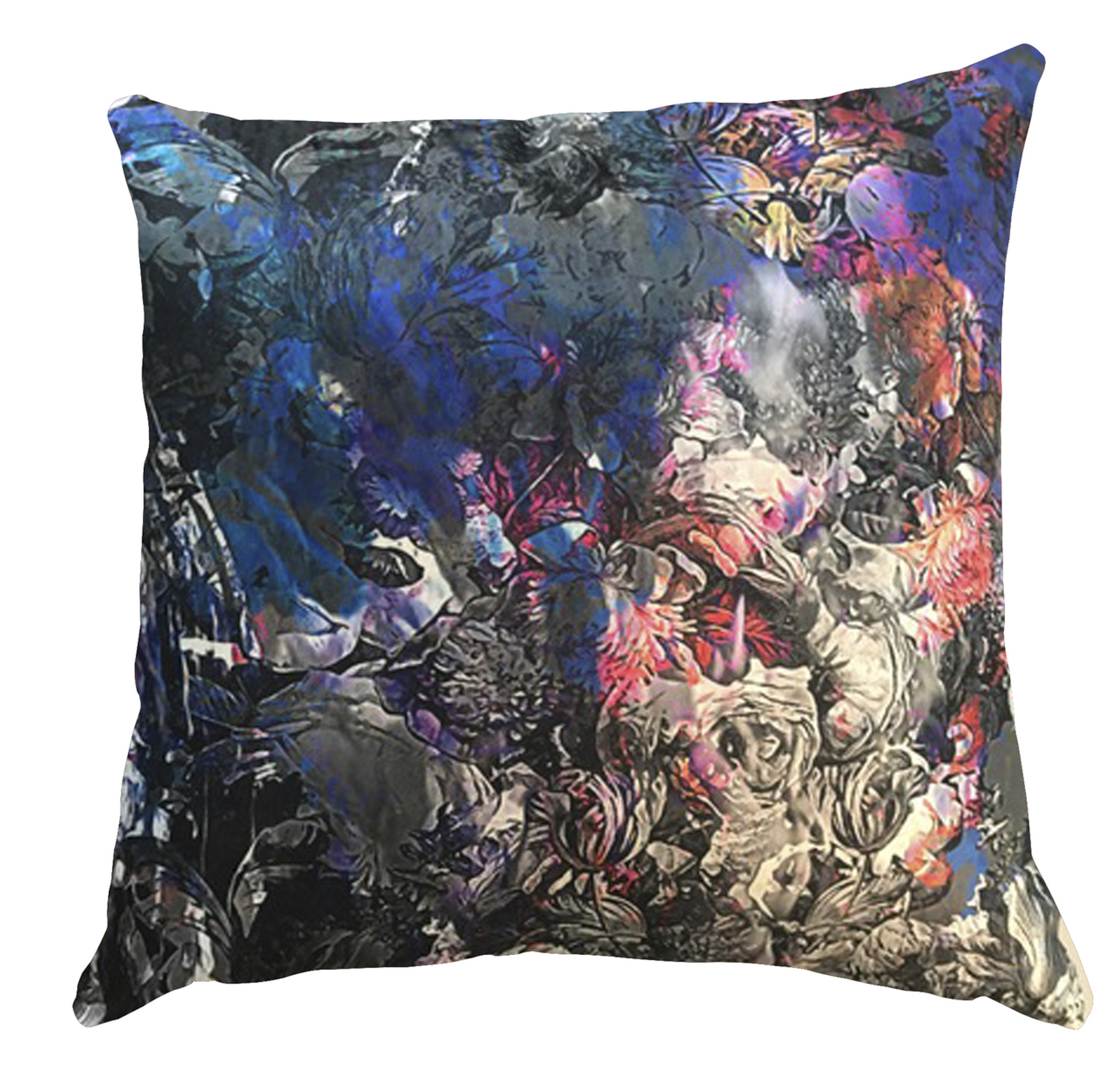 Cushion Cover - Let's Come to an Arrangement - Dark Blue
