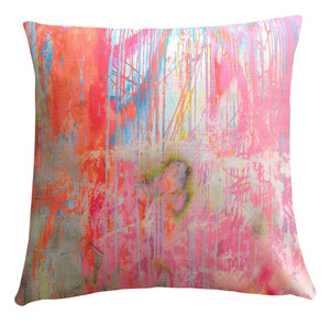 Cushion Cover - Chalky in Orange