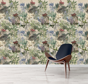 Wallpaper - Urban Sketches - Floral