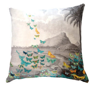Cushion Cover - Butterfly Storm - Tropical