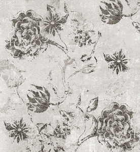 Fabric - Botanical Graffiti - Stone