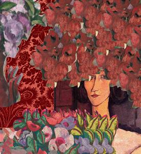 Wallpaper - Modigliani Was Here - Beatrice Hastings