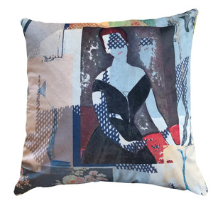 Cushion Cover - Modigliani Was Here - Club Des Filles