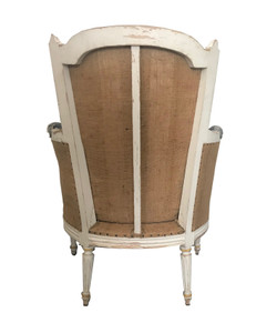 SOLD -  VINTAGE ORIGINAL FRENCH  CHAIR