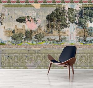 Wallpaper - Faded Empire - Restoration Project