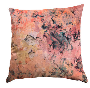 Cushion Cover - Faded Empire - Fragmented Orange