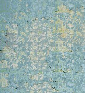 Wallpaper - Chinoiserie - Enchanted Garden in Melting Blue