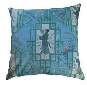 Cushion Cover - Chinoiserie - Eldest Princess Blue