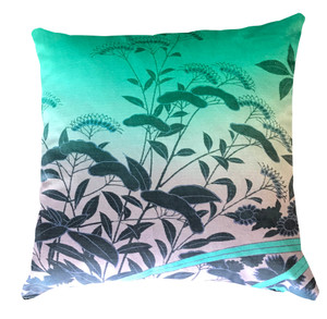 Cushion Cover - Ryokan Dreaming - Suggested Itinerary Aqua