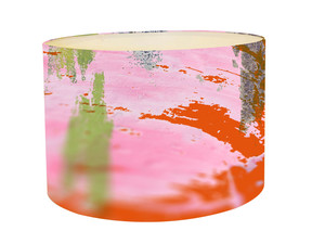 Lampshade - Blurred Vision - Pink Iris