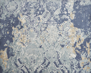 Rug - Faded Empire - Antique Blue