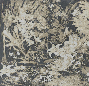 Fabric - Wildflowers - Chalky