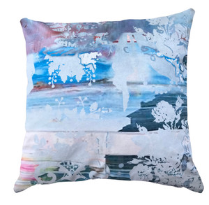 Cushion Cover - So Chic. So Intriguing So Blue