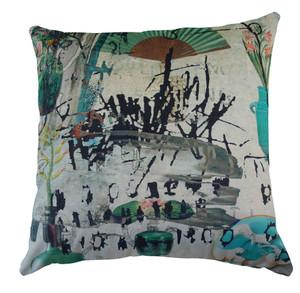 Cushion Cover - Casa Mia - Near Venice with fan