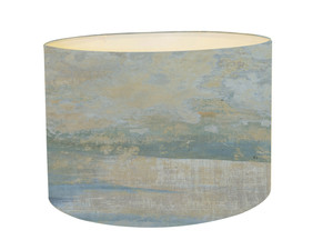 Lampshade - Abstract Landscape - Floating