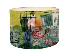 Lampshade - Graffiti Rose
