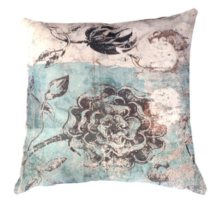 Cushion Cover - Botanical Graffiti