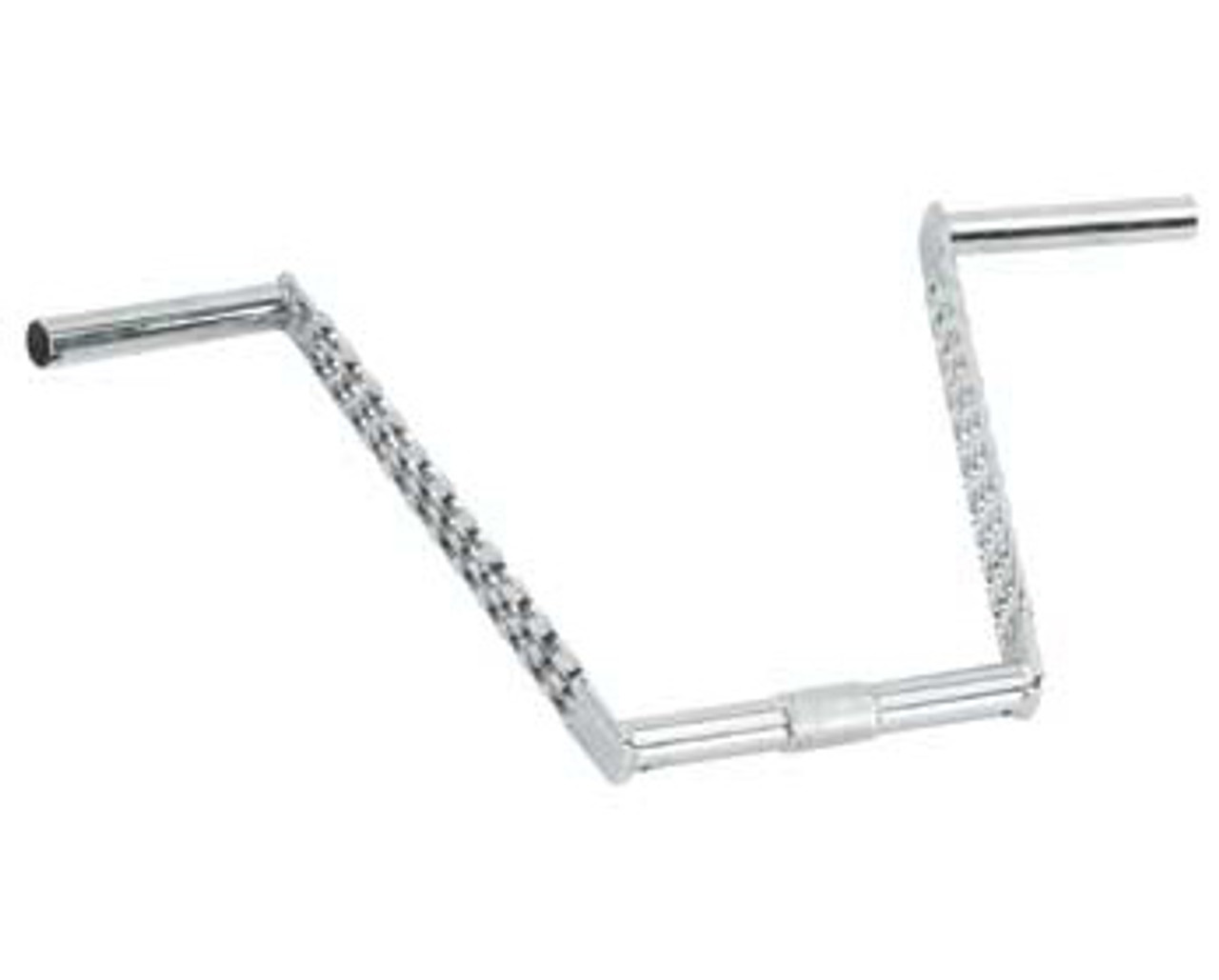 """Double Twisted Lowrider vélo guidon 12/"""" 25.4 mm Chrome 169-541 Original"""