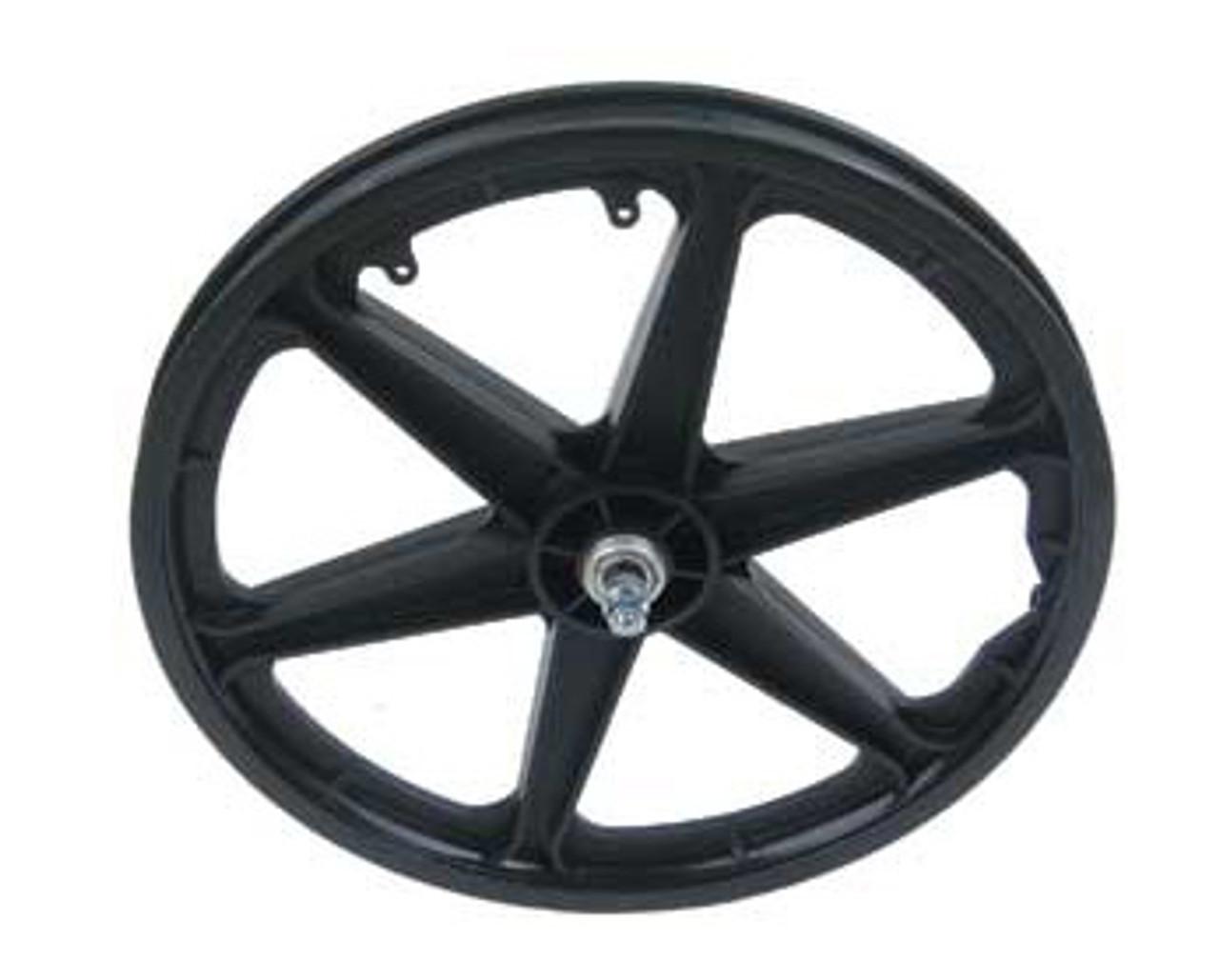 Bmx 20 Black Plastic 6 Spoke Front Wheels 20 X 1 75