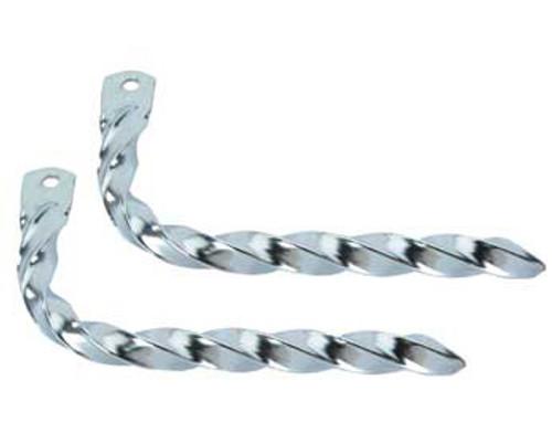 Lowrider Chrome Steel Twisted Mufflers