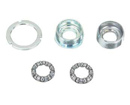 Bicycle Chrome Steel Set 3/Piece Crank Bottom Brackets 1.37x24T