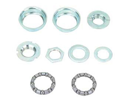 Lowrider Chrome Steel Set 1/Piece Crank Bottom Brackets 5/16x9 24T