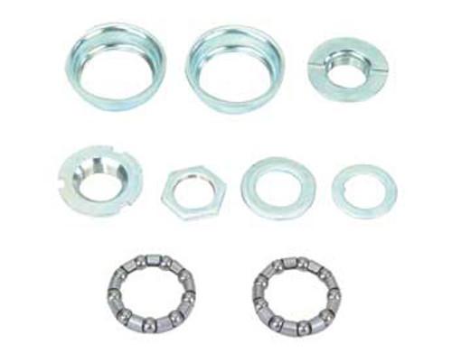 Lowrider Chrome Steel Set 1/Piece Crank Bottom Brackets 5/16x9 24T