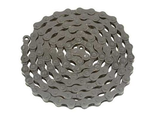 Fixed Gear Black Steel YBN Chains 1/2x1/8x112