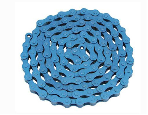 Fixed Gear Blue Steel YBN Chains 1/2x1/8x112