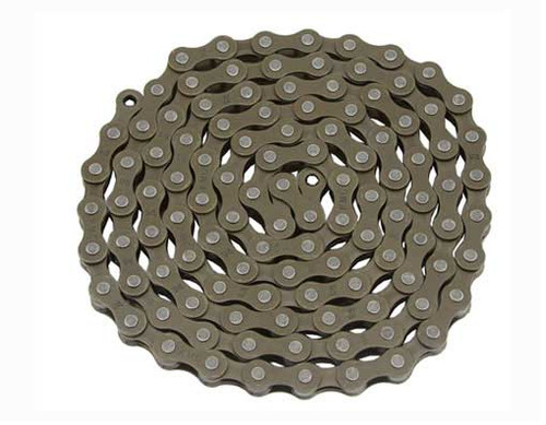 Fixed Gear Brown Steel KMC Chains 1/2x1/8x112
