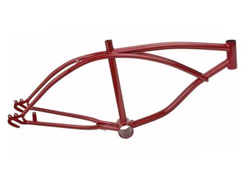 "Lowrider 20"" Red Steel Metallic Frames"