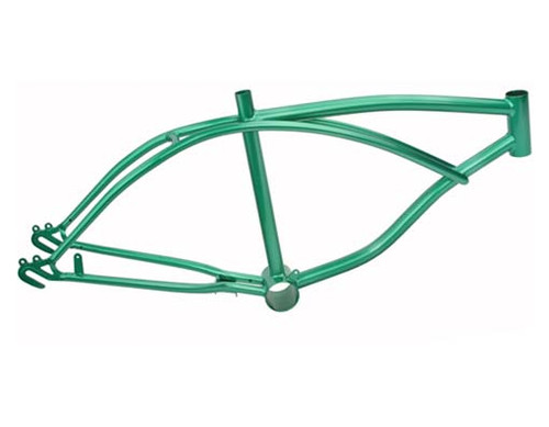"Lowrider 20"" Green Steel Metallic Frames"